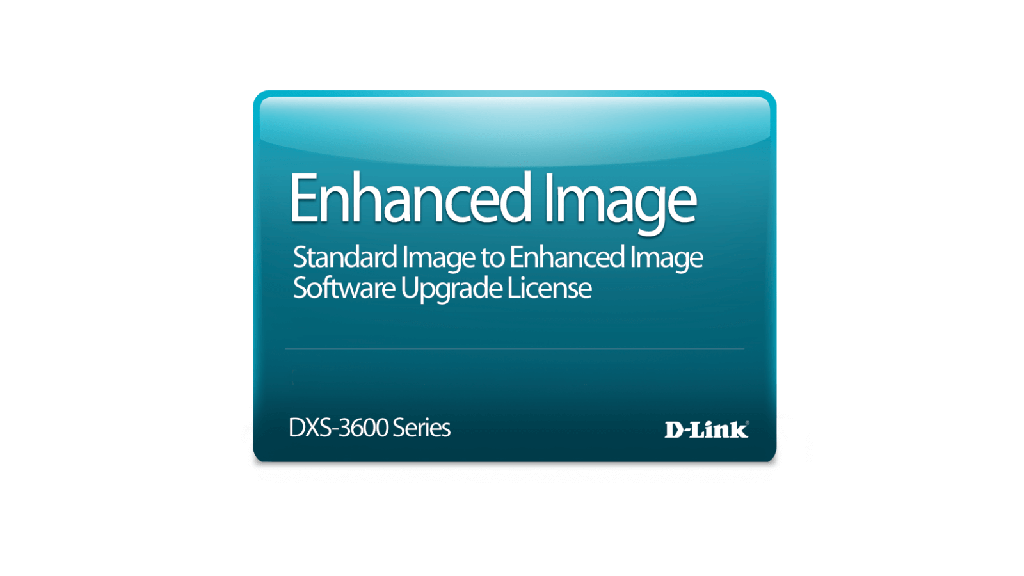 D-Link DXS-3600-16S-SE-LIC DXS-3600-16S Standard Image to Enhanced Imaged License