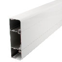 [3CT150X50] 3 Compartment Powder Coated Trunking (150mm x 50mm x 2.44m)