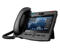 "[DPH-860S/B/F2] D-Link DPH-860S/B/F2 Video SIP Business PoE IP Phone with 7"" Multi Touch Screen"